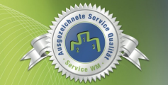 Ausgezeichnete Service Qualität 2012-2016
